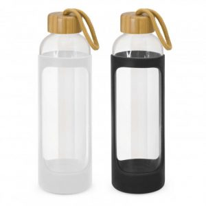 Promotional Eden Glass Bottle - Silicone Sleeve