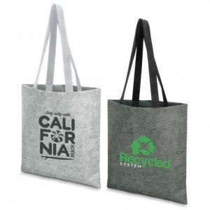 2 tote bag long woven cotton webbing handles and custom printed branded logo
