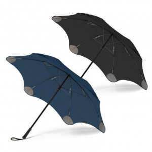 2 blunt coupe umbrella with a moulded plastic hand grip and woven wrist strap