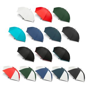selection of multicolour peros hurricane sport umbrella with a moulded rubber hand grip