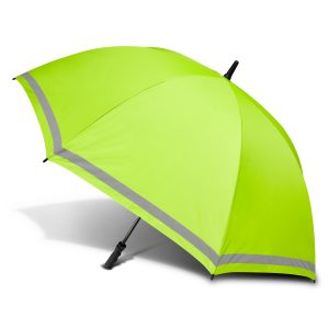 green with silver lining peros eagle umbrella